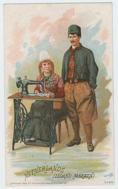 trade card Netherlands 1892