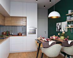 Trendy kitchen design scandinavian style home Scandinavian Style Home, Scandinavian Kitchen, Home Interior, Interior Design Living Room, Bad Styling, Kitchen Decor Themes, Home Decor, Kitchen Room Design, Bathroom Styling