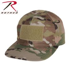 Rothcos ball cap style tactical operator hat features durable polyester   rip stop material and designed just like the Adult version. da6660d8178b