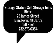 Storage Station Self Storage Toms River 25 James Street Toms River, NJ 08753 Call Now! 732-573-6354