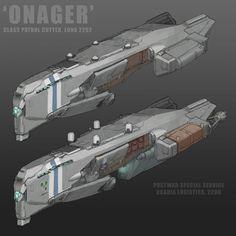'Onager' Class Patrol Cutter by MikeDoscher.deviantart.com on @DeviantArt