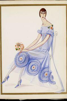 1925 Fashion Illustration