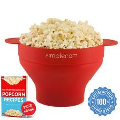 Popcorn Makers Best Popcorn Maker, Air Popper, Microwave Popcorn, Handmade Leather Wallet, Specialty Appliances, Food Grade, Healthy, Tableware, Easy