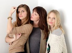 Lake Bell, Katie Aselton and Kate Bosworth. I always forget how much I like Lake Bell until I see her again. Sundance 2012