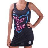 AFFLICTION Too Fast Sleeveless Lace Womens Tank Top Dress