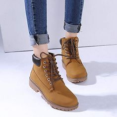 Cheap timber boots, Buy Quality martin boots directly from China snow boots Suppliers: 2017 Women boots Fashion Martin Boots Snow Boots Outdoor Casual cheap Timber boots Autumn Winter Lover shoes Botas Hombre unisex Lace Up Ankle Boots, Leather Ankle Boots, Shoe Boots, Women's Boots, Pu Leather, Men Boots, Flat Boots, Wedge Boots, Winter Shoes For Women