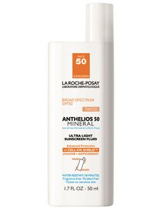 Anthelios SPF 50 Mineral Tinted Facial Sunscreen | La Roche-Posay