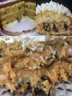 Clique na imagem por favor ❤ . Recheio de Ameixa com Doce de Leite para Bolos . My Recipes, Sweet Recipes, Cake Recipes, Dessert Recipes, Favorite Recipes, Delicious Desserts, Yummy Food, Love Cake, Cupcake Cakes