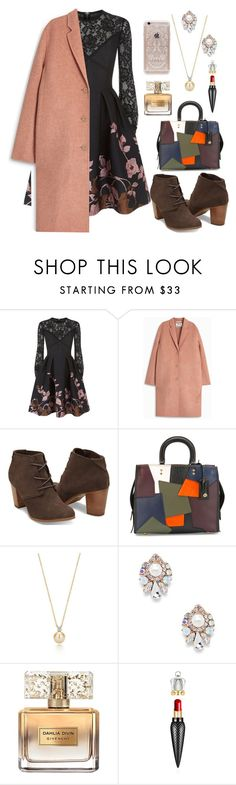 """""""ItsV #114"""" by itsrealvyvy ❤ liked on Polyvore featuring Elie Saab, Acne Studios, Coach, Sole Society, Givenchy, Christian Louboutin and Rifle Paper Co"""