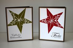 Stampin' up Christmas Star