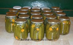 Pickles, Cucumber, Mason Jars, Food, Capri, House, Ideas, Sweet, Canning