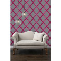 Temporary Wallpaper- Ruby Marrakesh from Dormify. Saved to Uncommon Decor. Shop more products from Dormify on Wanelo. Contemporary Wallpaper, Traditional Wallpaper, Self Adhesive Wallpaper, Of Wallpaper, Painted Wallpaper, Moroccan Wallpaper, Accent Wallpaper, Office Wallpaper, Luxury Wallpaper