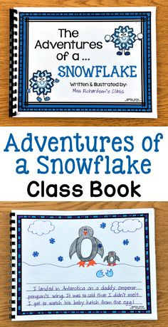 """Adventures of a Snowflake"" writing activity - These cute winter writing prompts are great to use anytime during the winter season. They are perfect to spark your kids' creativity and help them get excited about writing! There are NINE different creative prompts to choose from so you can select the one(s) that best match the ability level of your class. You could also put a few of them in your writing center and let the children pick which one they want."