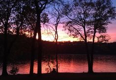 For a beautiful weekend trip in the outdoors, post up in a yurt at Lake of the Ozarks State Park.