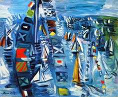Regatta by Raoul Dufy Handmade oil painting reproduction on canvas for sale,We can offer Framed art,Wall Art,Gallery Wrap and Stretched Canvas,Choose from multiple sizes and frames at discount price. Oil Painting On Canvas, Canvas Art Prints, Raoul Dufy, Framed Art, Wall Art, Alcohol Ink Art, Oil Painting Reproductions, Henri Matisse, Artwork