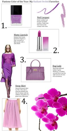 Oh to Be a Muse | Bay Area Fashion Blogger Inspiring Style: Inspiring Style: Radiant Orchid Love #radiantorchid #pantonecoloroftheyear