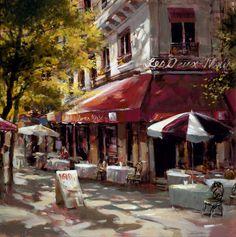 sidewalk cafe's in Paris...memories