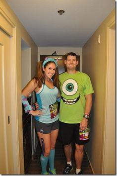 Monster Inc running costume