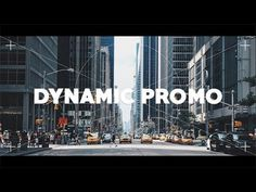 Dynamic Promo | After Effects Template