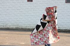 DIY Beginner Quilt Tutorial by Noodle Head