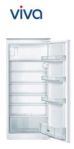 Réfrigérateur intégrable | Fixation de porte par glissières | Volume partie réfrigérateur : 187L | Volume partie congélateur : 17L