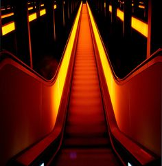 Escalator from hell or stairway to heaven? by Sven Seiler