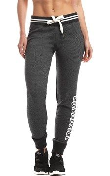 Black Marle Everley Womens Knit Trackpants