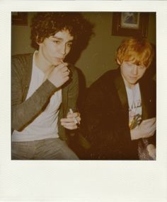 Robert Sheehan and Rupert Grint