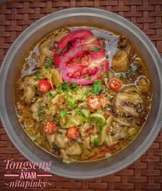 Tongseng ayam yang segar, sedap dan sangat mudah dibuat