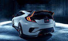 2017 Honda Civic Type R-rear view