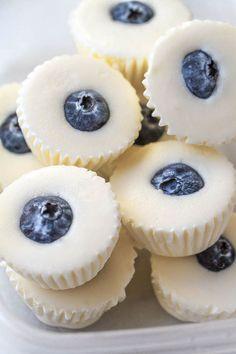 No-Bake Lemon Cheesecake Fat Bombs - These creamy lemon bites stop sugar cravings right in their tracks!