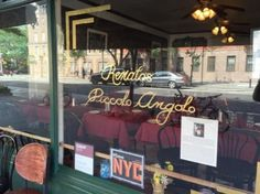 Menus for Piccolo Angolo Restaurant - New York - SinglePlatform