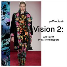 Vision 2: Autumn/Winter 2018/19 Print Trend Report