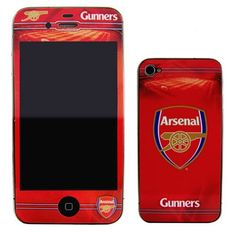 Arsenal iPhone skin