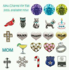 New charms available now!! www.rebeccas.origamiowl.com