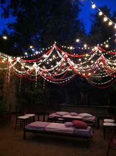 Turn the ceremony area into a lounge area for the reception and guest to relax and mingle after the vows are exchanged