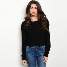 Shop The Trends Women's Long Sleeve Sweater Top