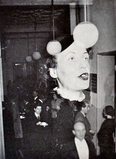 Sibila Moholy-Nagy en la apertura de The New Bauhaus. Chicago 1937