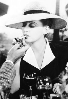 Now Voyager (1942) Bette Davis's transformation from a deeply dowdy (read: traumatized) 30-ish homebody to the glamorous woman of the world she becomes once she gets away from her soul-crushing mother …..