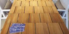 Brick garden table for RODA. Paardekooper-Hulst outdoor design | #brick #roda #table #tuintafel #teakhout #hout #teak