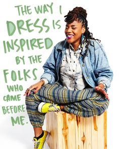 Mama. Poet. Activist. Mentor. An initmatable sense of style (that we'll try to copy anyway). Jazz Hudson. #badassmoms.
