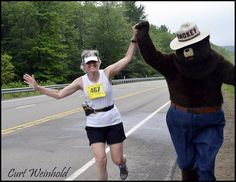 Only YOU can run with Smokey Bear in God's Country!