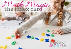 This simple trick with an index card shows kids that anything is possible! Older Kids Crafts, Lincoln New Hampshire, Math Magic, Card Tricks, Anything Is Possible, Index Cards, West Virginia, Activities For Kids, Simple