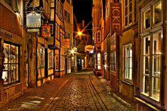 Schnoor, Bremen, Germany Bremen Schnoor, The Places Youll Go, Places Ive Been, Bremen Germany, Beautiful Places, Wanderlust, Europe, Life