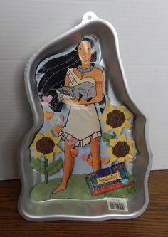 1995 Wilton Disney #2105-3700 Pocahontas Cake Pan
