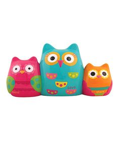 Look what I found on #zulily! Owl Save, Share, Spend Bank #zulilyfinds