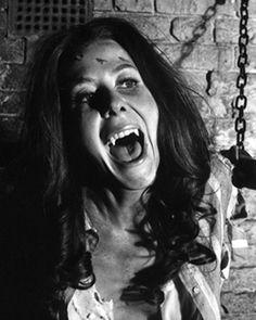 """Satanic Rites of Dracula"" Vampire Film, Female Vampire, Vampire Art, Vampire Bride, Horror Scream, Horror Show, Horror Movies, Hammer Horror Films, Hammer Films"
