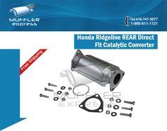 Our Honda Ridgeline #REARDirectFit #CatalyticConverter fits all 3.5L V6 models from 2006 through to 2008.