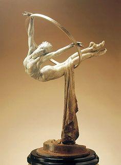 """Richard MacDonald. """"Elena Study II."""" From MacDonald's Cirque du Soliel series."""