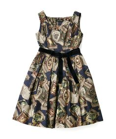 Fairy Tale BOOK Square dress - Jane Marple Online Shop